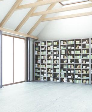 Bibilothèque tous corps d'Etat pour habitat collectif et tertiaire