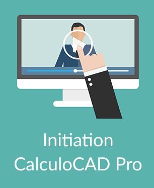 Vidéo d'Initiation à CalculoCAD Pro
