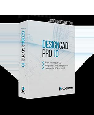 Mise à jour de DesignCAD Pro 10 depuis 8000